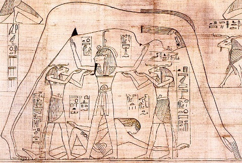 Egyptian flat earth diagram collection of wiring diagram what if the bible depicts a solid domed sky and a flat earth held up rh publicscrutiny Choice Image